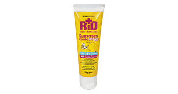 Launch of new and improved Sunscreen SPF50+ Lotion with Repellent to the Australian market