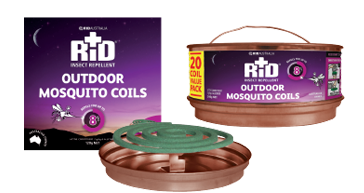 Launch of RID's new Outdoor Mosquito Coils Range to the Australian Market